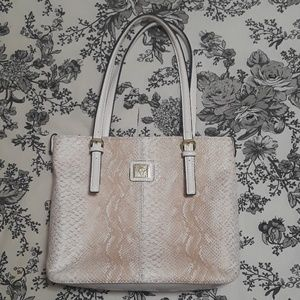 ANNE KLEIN Snakeskin purse